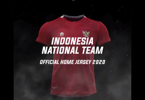 PSSI Rilis Jersey Timnas Indonesia Terbaru 2020
