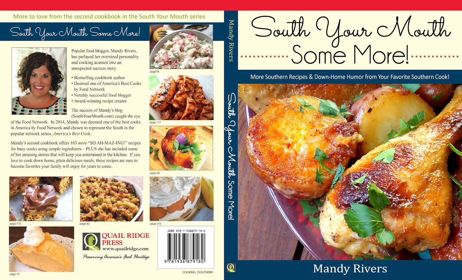 South your mouth get the new cookbook whats in it and why i love get the latest cookbook from mandy rivers in the south your mouth series south forumfinder Images