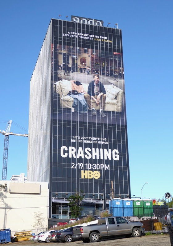 Crashing season 1 billboard