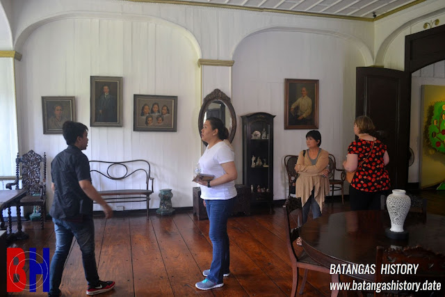 Inside the Mariño-Agoncillo Ancestral House in Taal, Batangas.