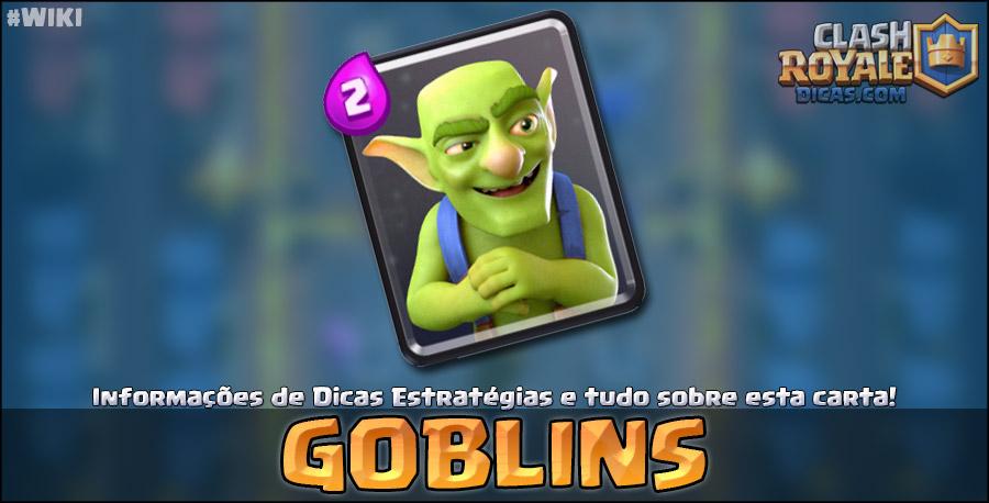 Carta dos Goblins em Clash Royale