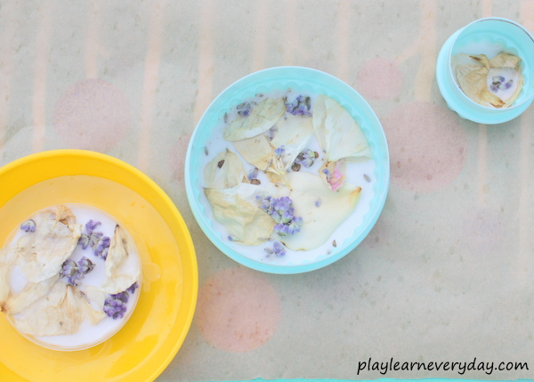 Flower petal suncatcher craft play and learn every day - Crafts with flower petals ...