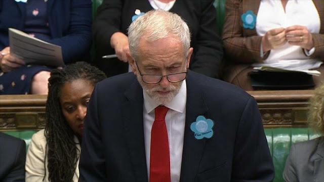 Jeremy Corbyn pide suspensión de venta de armas británicas a Riad