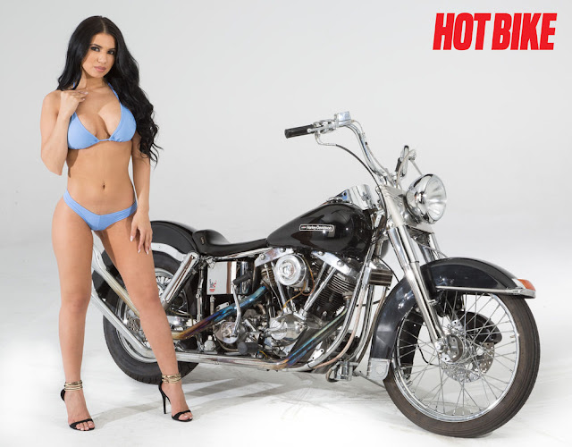 Harley Davidson Hot Bike Model - Amber Grace