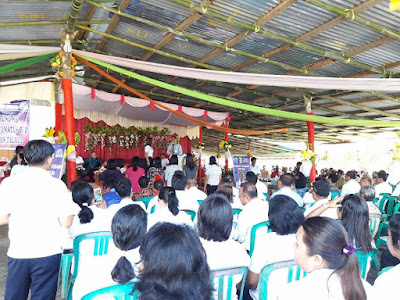 Bupati Talaud, SWM pada pencanangan Kampung KB di Kabupaten Talaud.