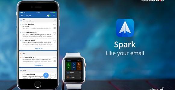 Spark أدر بريدك الإلكتروني بشكل عصري