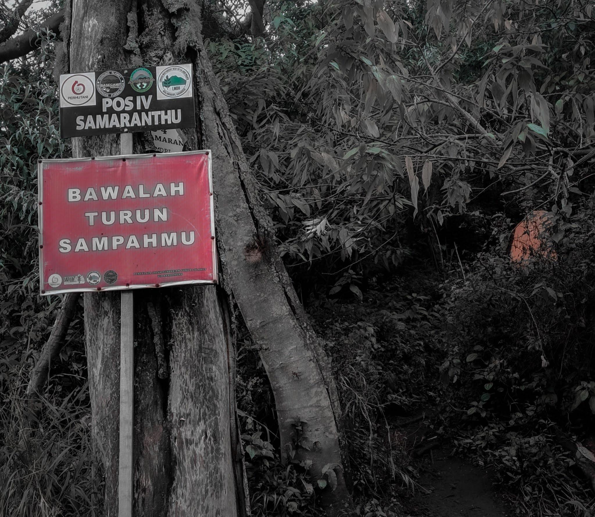 Cerita mistis pendakian gunung slamet