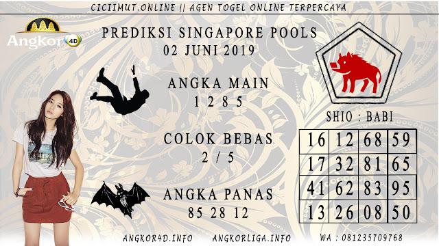 PREDIKSI SINGAPORE POOLS 02 JUNI 2019