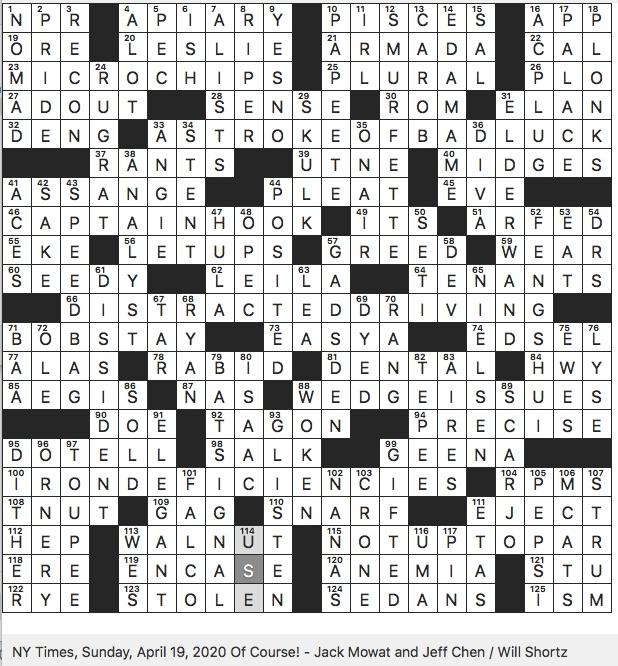 keto diet no-no nyt crossword