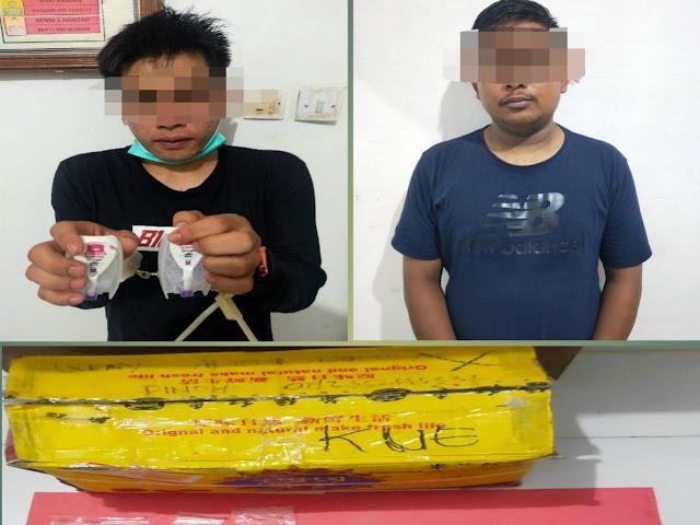 Bawa Sabu, Dua Orang Pelaku Diamankan Satuan Narkoba Polres Melawi