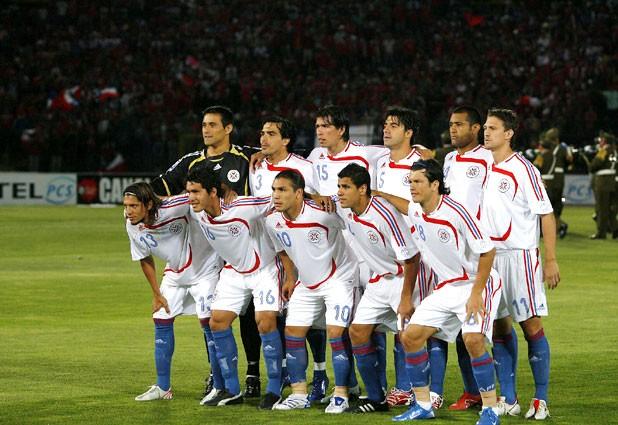 Formación de Paraguay ante Chile, Clasificatorias Sudáfrica 2010, 21 de noviembre de 2007