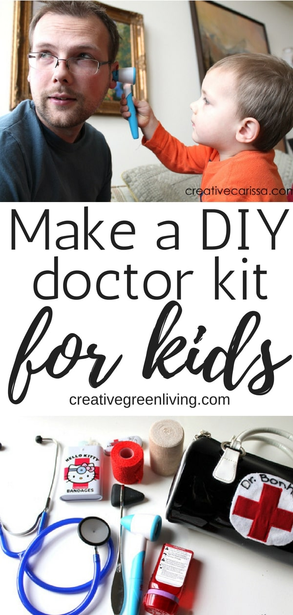 How to make a doctor play set for kids