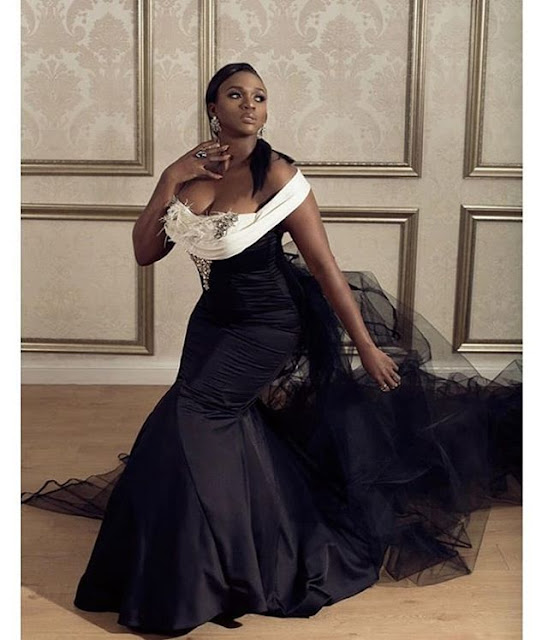 Songtress Waje Is In her Element In This Stunning Dress