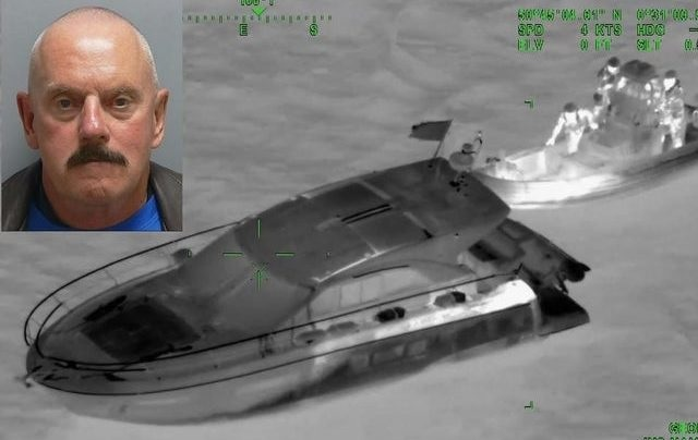 L'inglese di 64 anni arrestato mentre trasportava 9 albanesi in motoscafo