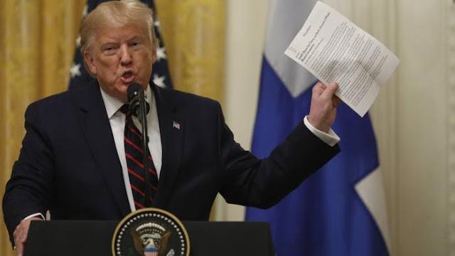 Presiden Donald Trump Nyatakan Tahu Identitas Pemimpin Baru ISIS