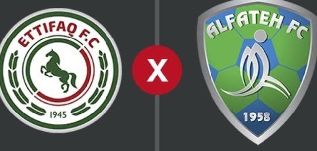 موعد مباراة الفتح ضد الاتفاق والقنوات الناقلة لها ومعلق مباراة الاتفاق والفتح الدوري السعودي (الأسبوع 26)