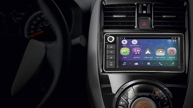 Nissan Versa 2019 - interior