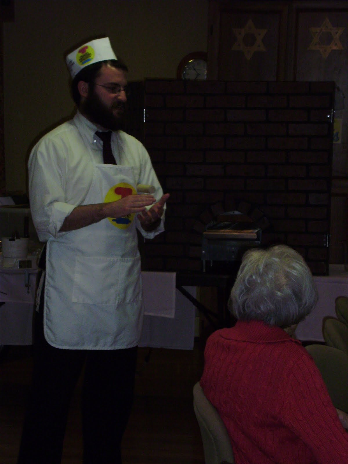 Rabbi Friedman In Kew Gardens Hills: The Wiggins Place Blog: The Model Matzah Bakery With The