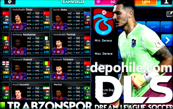 DLS 21 Trabzonspor Modu İndir Tüm Yeni Oyuncular Var