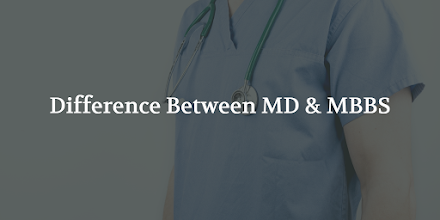 Is MD/BS equivalent to MBBS? Difference between MD and MBBS?