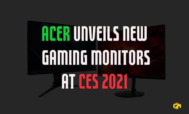 Acer monitor CES 2021 Gizmo Manila