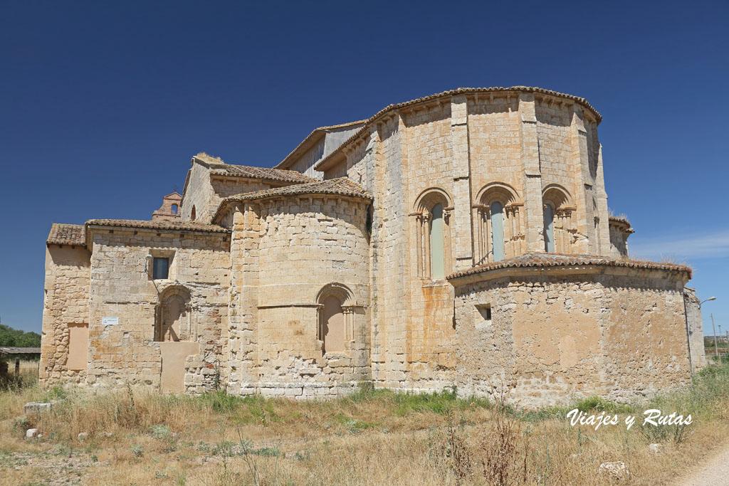 Ábside del Monasterio de Palazuelos, Valladolid