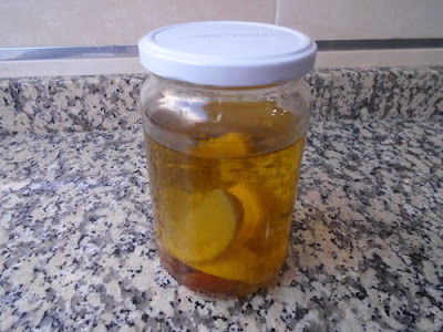 Aceite de ajo y limón