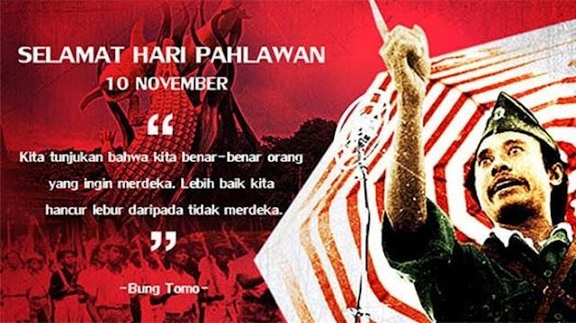 Mengapa tanggal 10 November diperingati sebagai  Hari Pahlawan ?