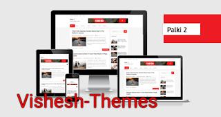 Palki 2 - Premium Responsive Blogger Template