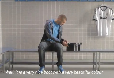 compre los más vendidos orden mejor Karim Benzema y Adidas te enseñan como personalizar tus ...