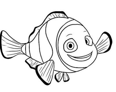 Gambar Ikan Nemo Sangat Lucu
