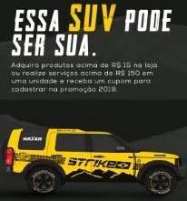 Cadastrar Promoção Strike Brasil Official Truck 2019 - Concorra SUV