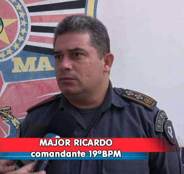 Resultado de imagem para Major Ricardo Comandante do 19° BPM.