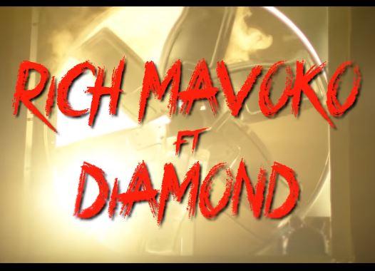 Rich mavoko amekuja na ngoma mpya na time hii akimshirikisha diamond