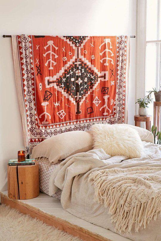 Ideas para decorar la pared del cabecero