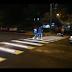 Video. Dupa stalpi cu LED acum Constanta are treceri de pietoni cu leduri montate in asfalt