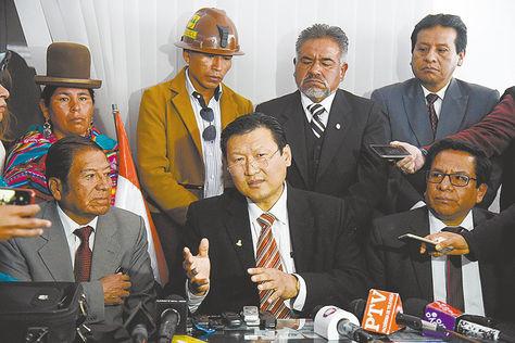 El médico boliviano de origen sur coreano es el reemplazo de Paz Zamora en el PDC / ARCHIVOS