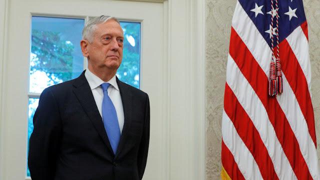 """Jefe del Pentágono se retira """"para que Trump nombre a otro que tenga visión más semejante a la suya"""""""