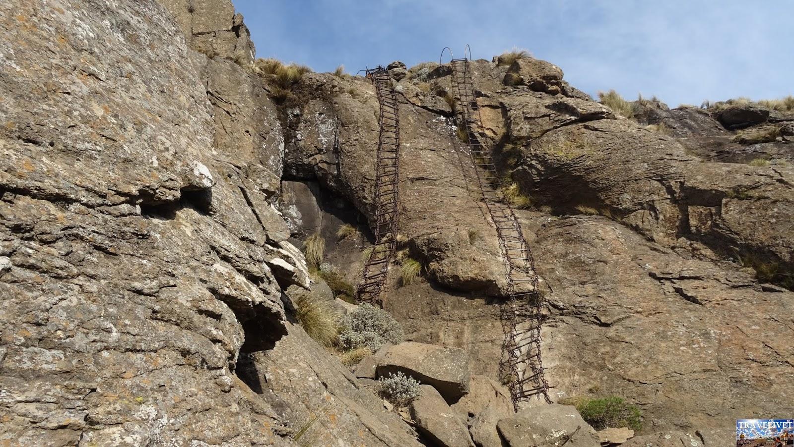 Afrique du sud échelles Trek Sentinel Peak