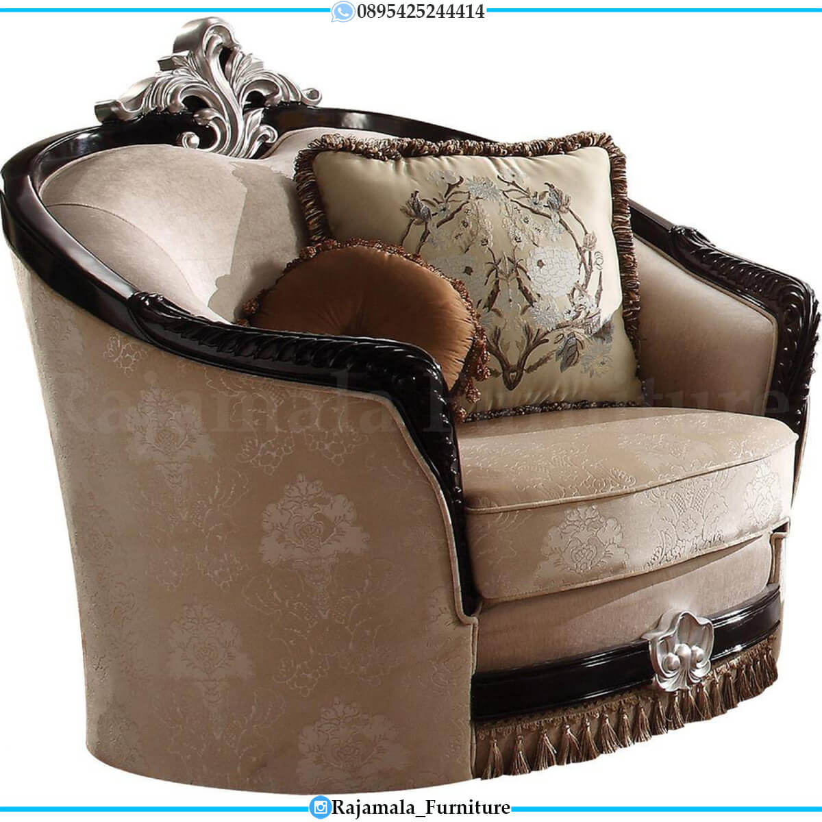 Beauty Set Sofa Tamu Mewah Terbaru Elegant Style RM-0726