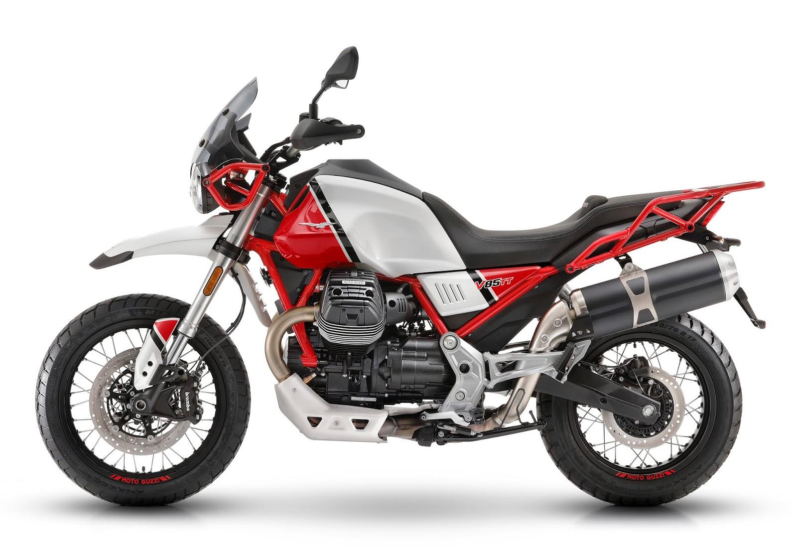 Racing Caf U00e8  Moto Guzzi V85 Tt 2019