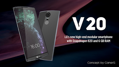 LG strikes the market with its smartphone V20