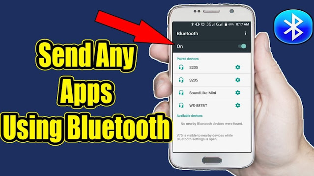 How To Transfer Android Apps Via Bluetooth in 2021