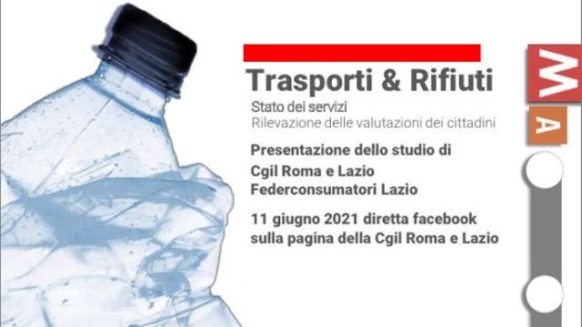TRASPORTI & RIFIUTI: 11 GIUGNO PRESENTAZIONE STUDIO CGIL E FEDERCONSUMATORI