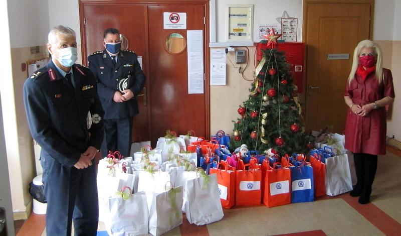 Κοινωνικές δράσεις της Ελληνικής Αστυνομίας στην Αν. Μακεδονία και τη Θράκη κατά τις εορτές των Χριστουγέννων και του Νέου Έτους