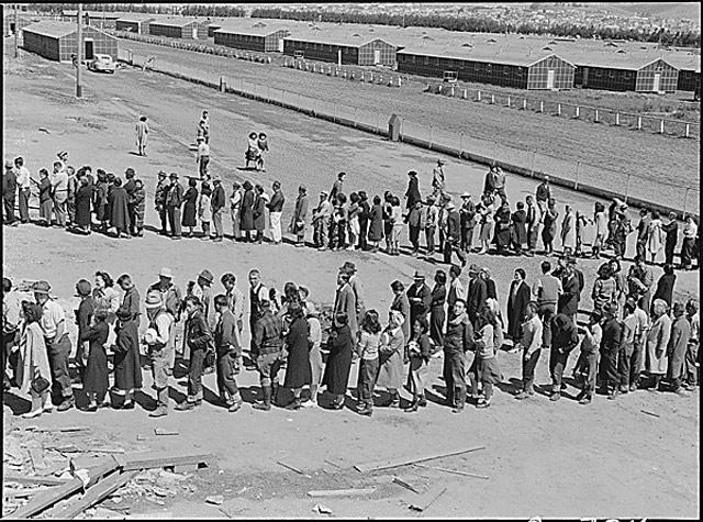 Tanforan Assembly Center, 29 April 1942 worldwartwo.filminspector.com