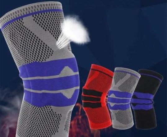 Knee and Elbow Sports Compression Support Pads
