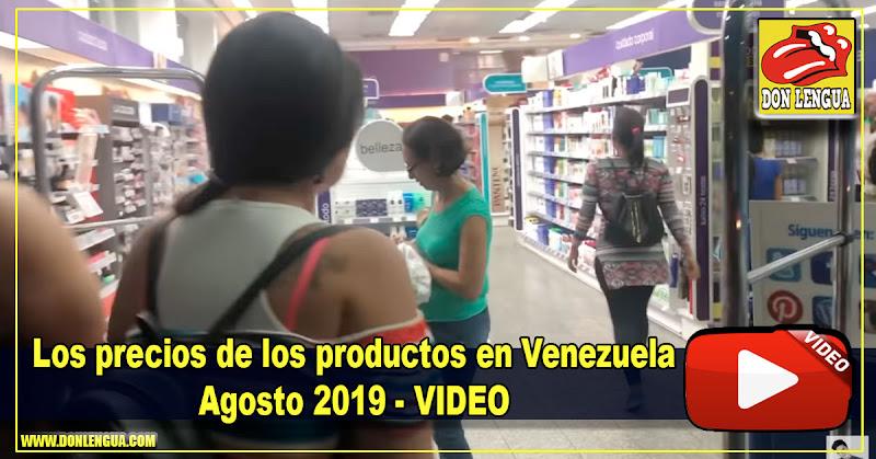El NeuroKiller nos muestra los precios de los productos en Venezuela - Agosto 2019