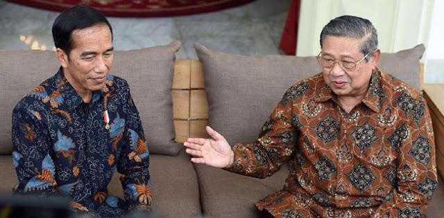 Pertemuan Jokowi Dengan SBY Dan Prabowo, Sinyal Kuat Gerindra-Demokrat Gabung Pemerintah