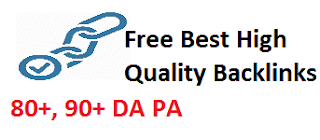 free high quality backlinks, dofollow backlinks, strong DA PA sites, high quality dofollow backlink websites, get high quality backlink, backlink kaise banaye
